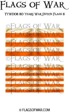 TYWD08 80 Years War Dutch Flags 8