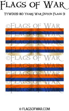 TYWD09 80 Years War Dutch Flags 9