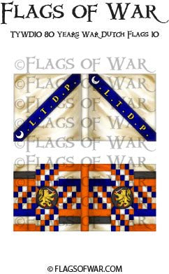 TYWD10 80 Years War Dutch Flags 10