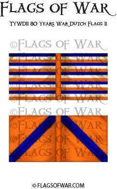 TYWD11 80 Years War Dutch Flags 11
