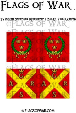 TYWS38 Swedish Regiment 1 (Make Your Own)