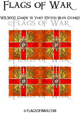 WILW02 Garde te Voet (Dutch Blue Guard)