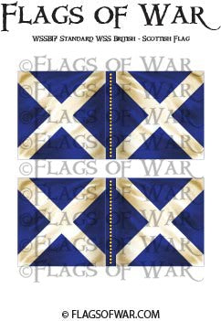 WSSB17 Standard WSS British - Scottish Flag
