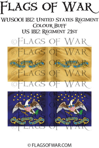 WUS002 28mm 1812 United States Regiment (no Frills)