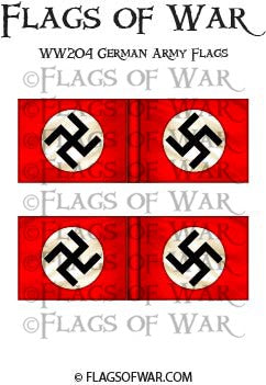 WW204 German Army Flags