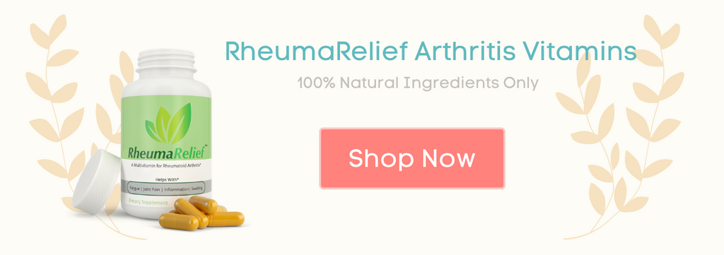 RheumaRelief Rheumatoid & Osteoarthritis Multivitamin Shop Now CTA