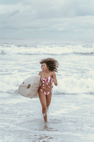beach surfer girl hair care products made in hawaii Surf Soap Rehab Balm Hair Conditioner