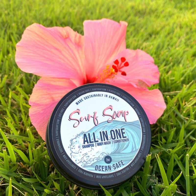 Surf Soap© All-In-One: 3 Bar Set