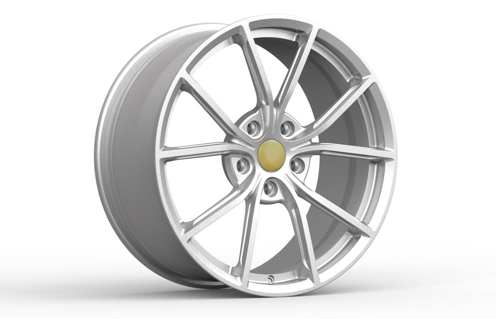 FP 221 - Aftermarket Custom Made Fully Forged Wheels Set To Fit Most Ferrari