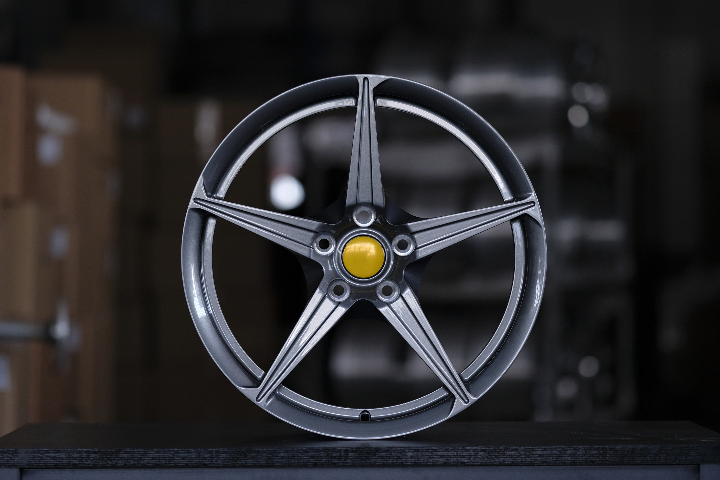 FP 223 - Aftermarket Custom Made Fully Forged Wheels Set To Fit Most Ferrari
