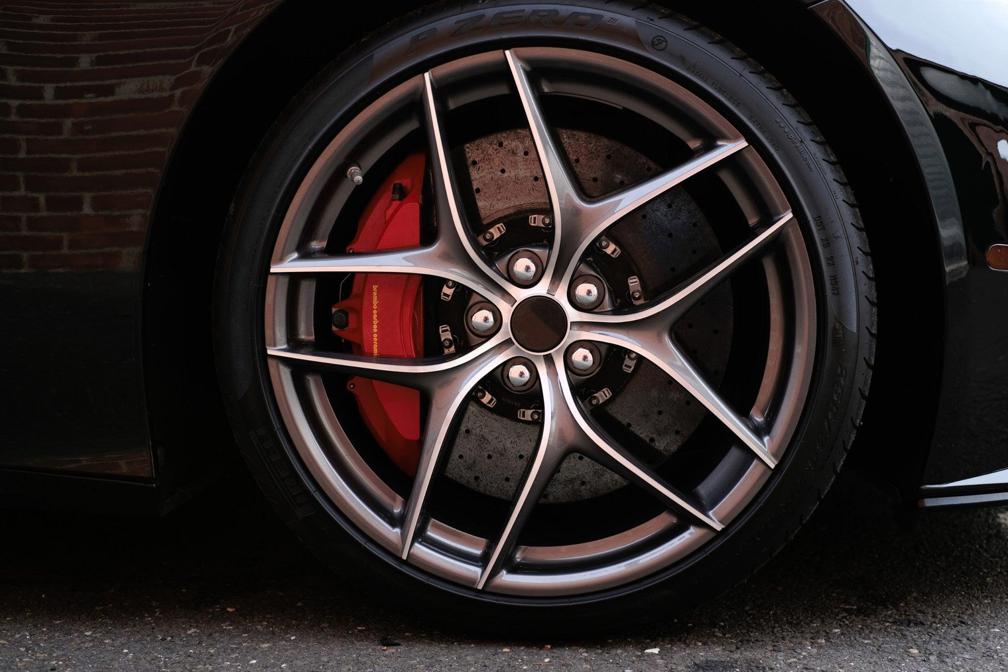 FP 228 - Aftermarket Custom Made Fully Forged Wheels Set To Fit Most Ferrari