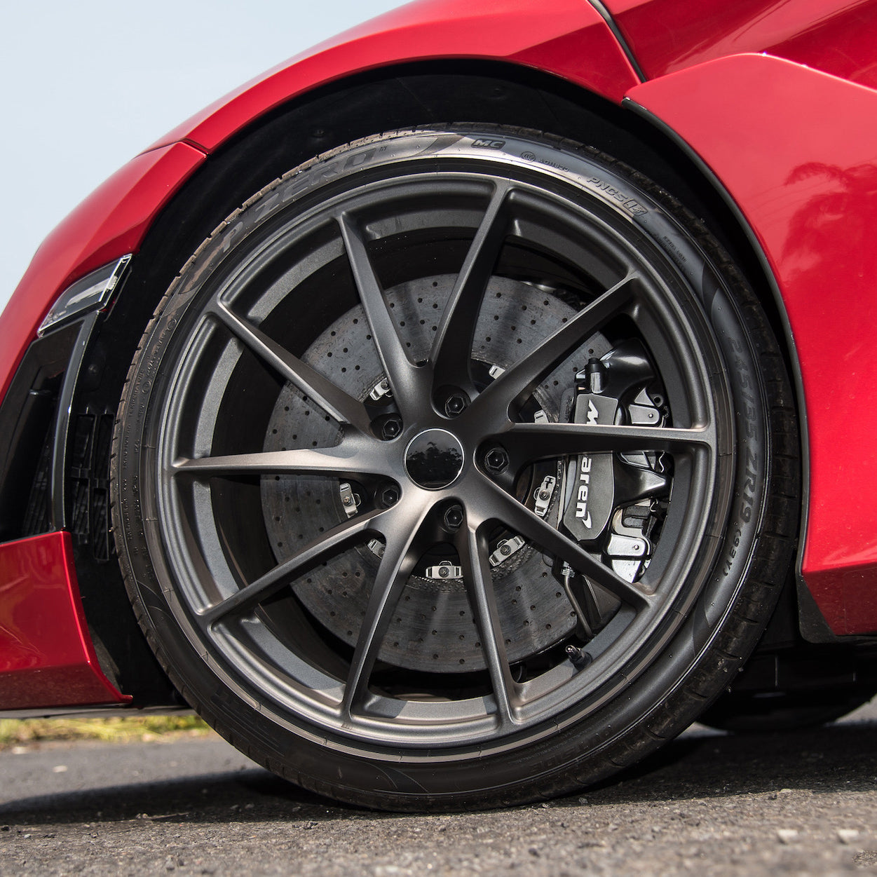 ML 201 - Aftermarket Custom Made Fully Forged Wheels Set To Fit Most McLaren