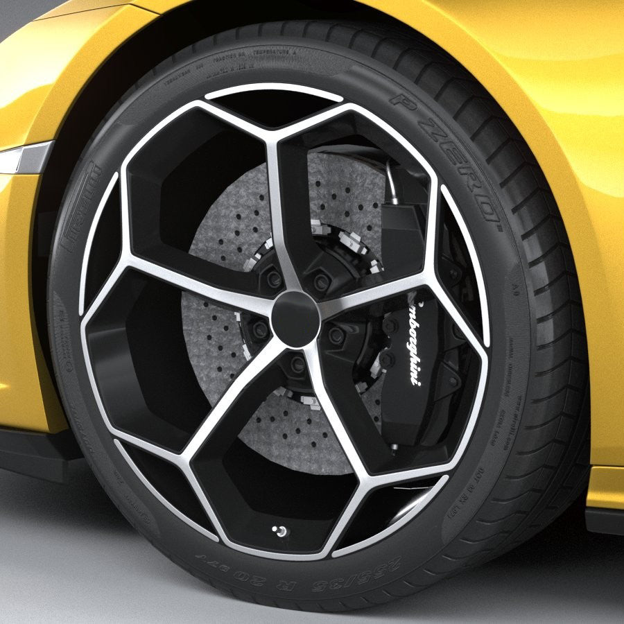 LM 203 - Aftermarket Custom Made Fully Forged Wheels Set To Fit Most Lamborghini
