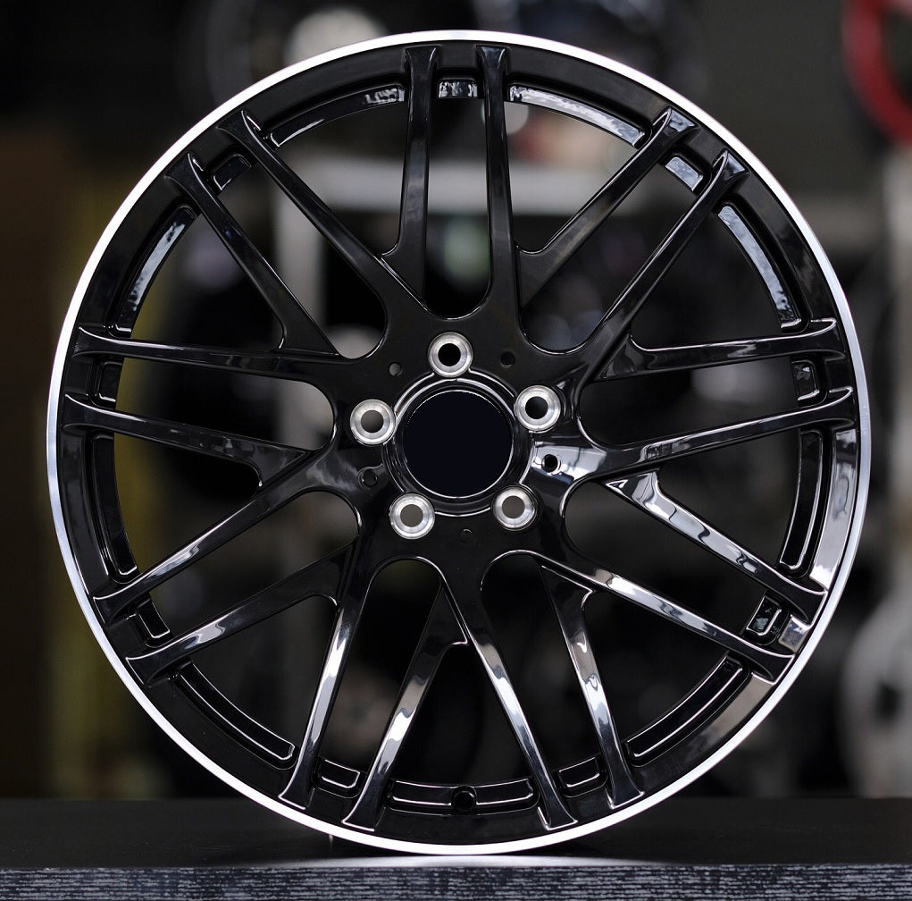 MB 221 - Aftermarket Custom Made Fully Forged Wheels Set To Fit Most Mercedes AMG C63s-E63s-GTS-GTR