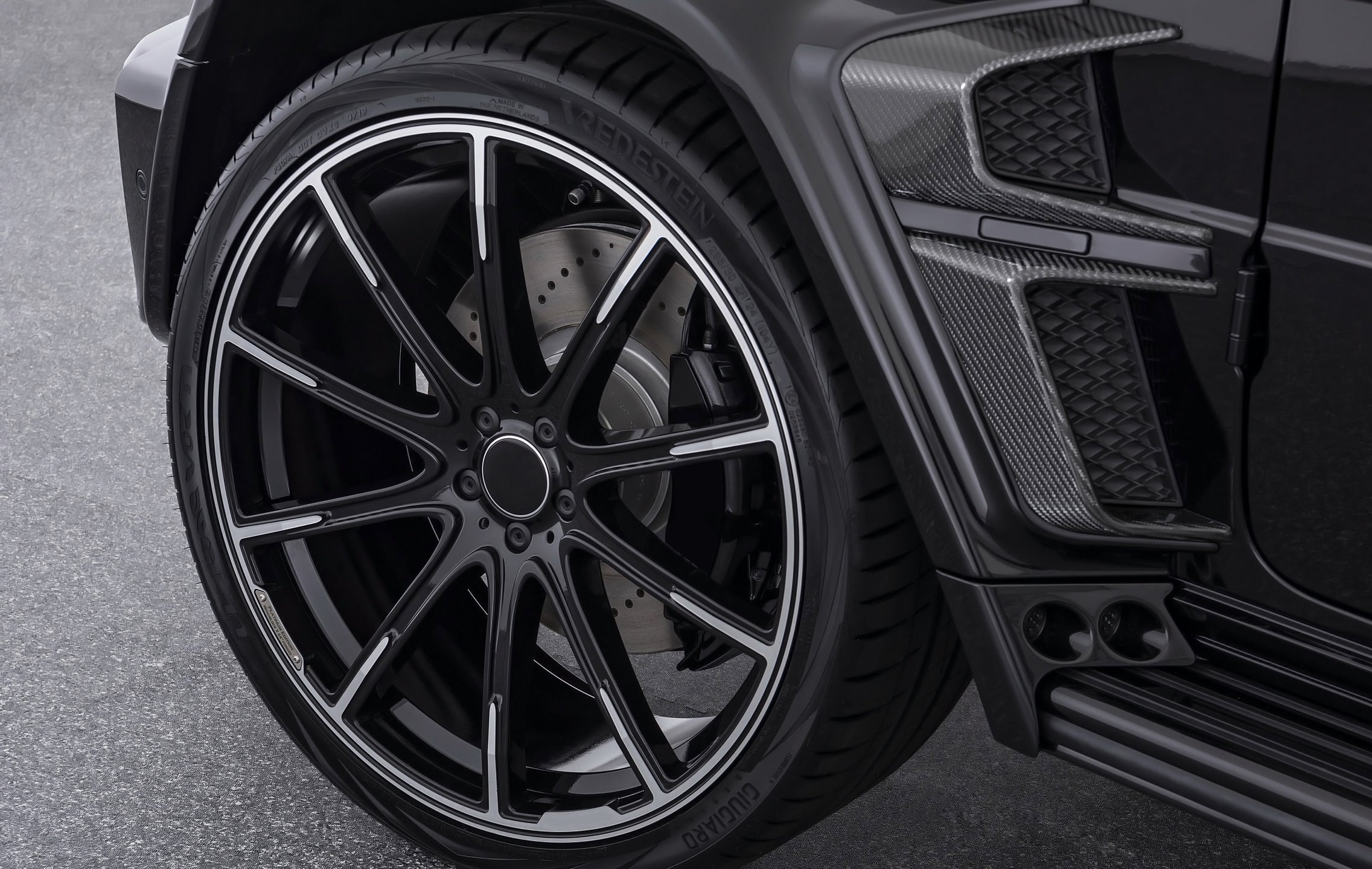 MB 225 - Aftermarket Custom Made Fully Forged Wheels Set To Fit Mercedes AMG G Wagon