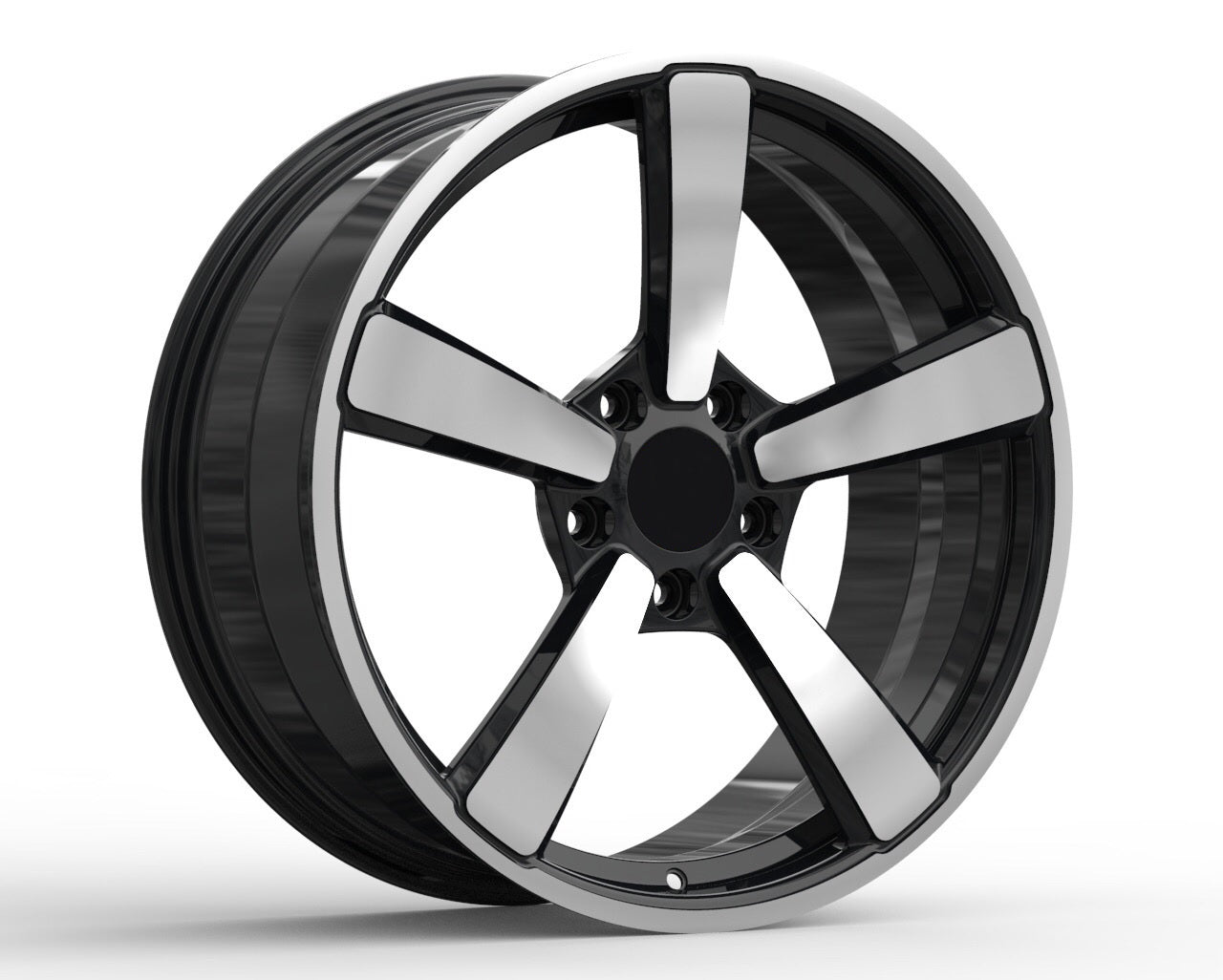 PN 226 - Aftermarket Custom Made Fully Forged Wheels Set To Fit Porsche 911 997 991 992 718