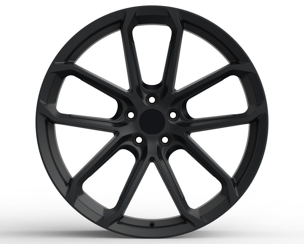 PS 221 - Aftermarket Forged Custom Made Wheels Set Type Porsche 718 GT4 with Graphite Coating