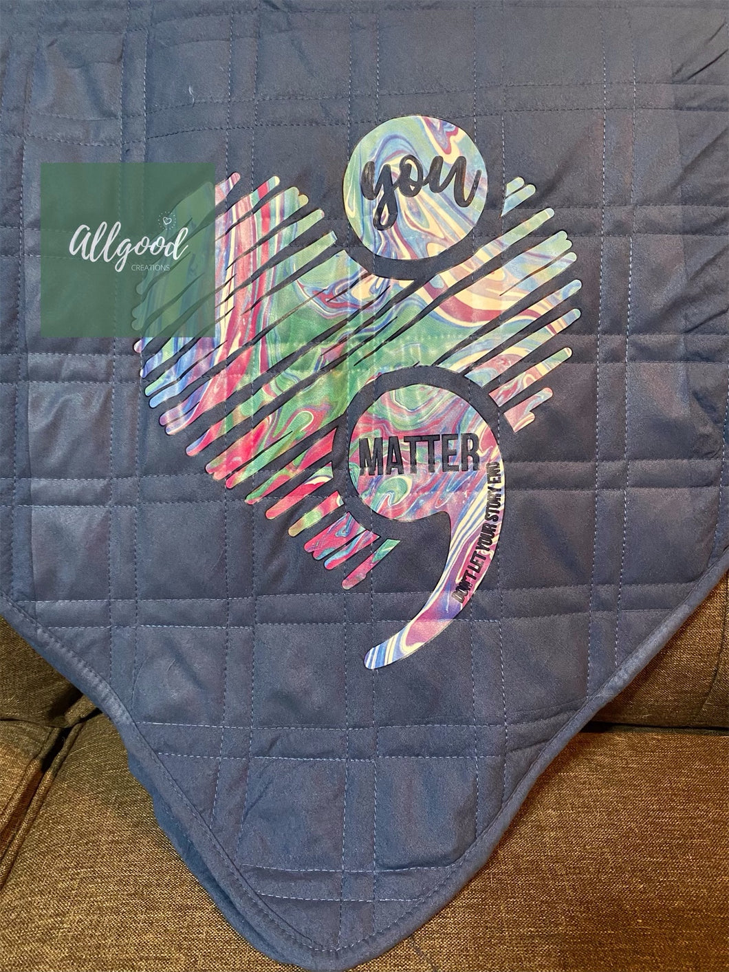 You Matter Super Soft Blanket Throw