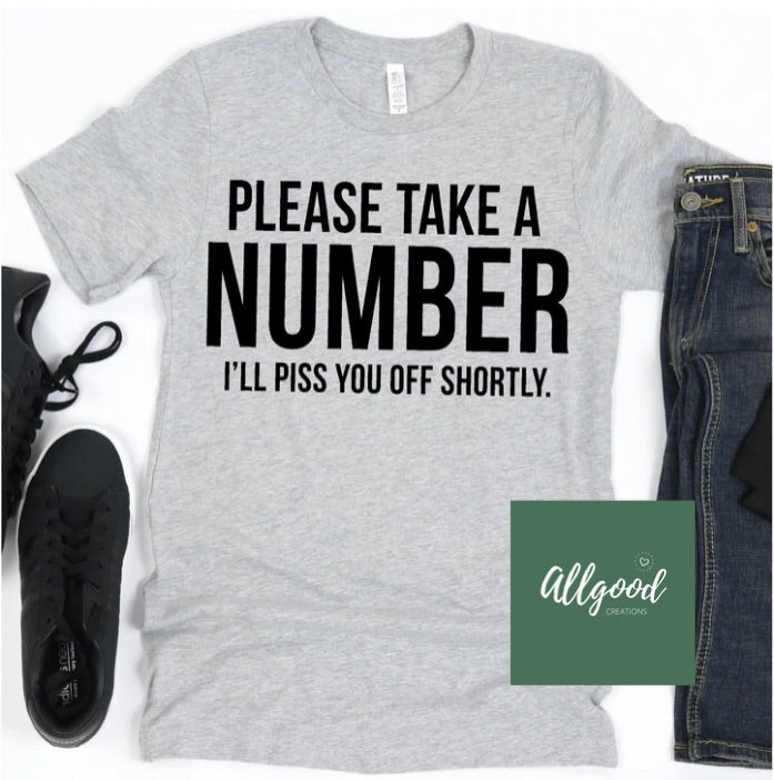 Take a Number T-Shirt