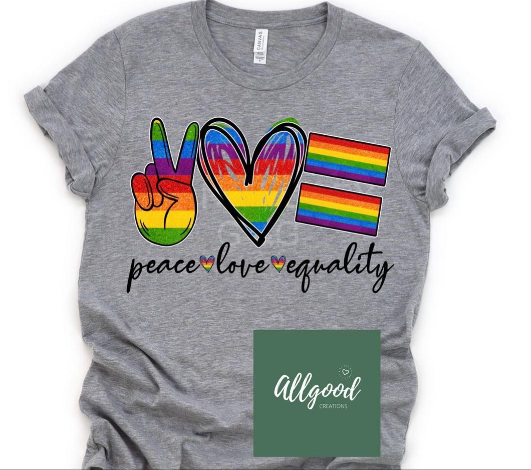 Peace, Love, Equality