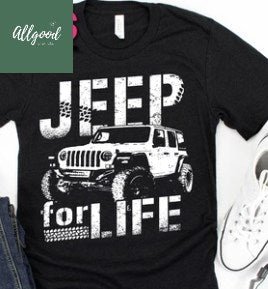 Jeep for Life T-Shirt