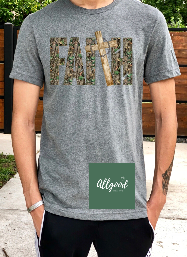 Faith Camo T-Shirt