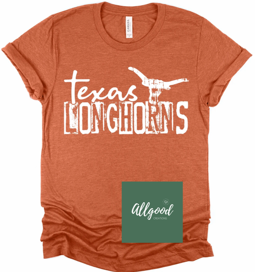 Vintage Texas Longhorns T-Shirt