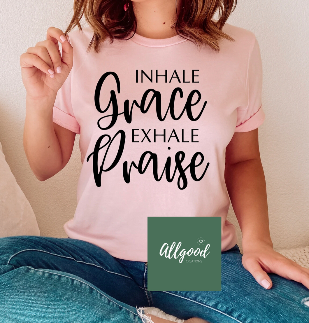Inhale Grace T-Shirt