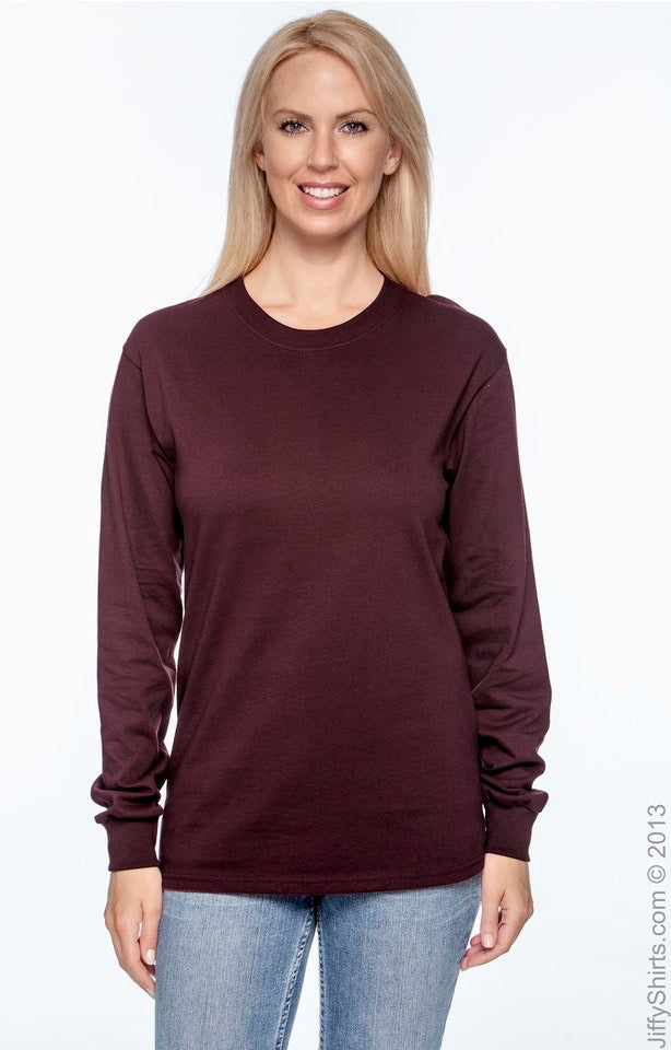 Long Sleeved T-Shirt Option