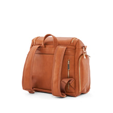 Load image into Gallery viewer, Vegan Leather Diaper Bag in Brown