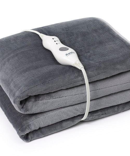 BodyWarm MicroPlush Heated Throw
