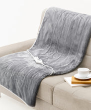 Load image into Gallery viewer, BodyWarm MicroPlush Heated Throw