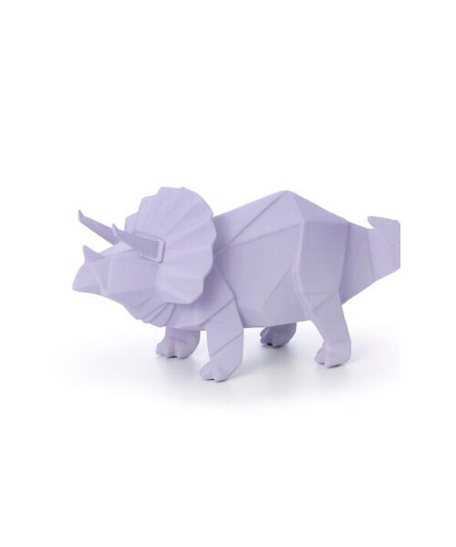 Glo-Wild Night Lights – Purple Triceratops