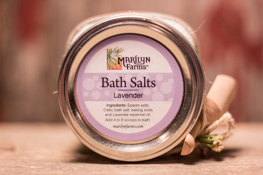 Bath Salts-Lavender, Small