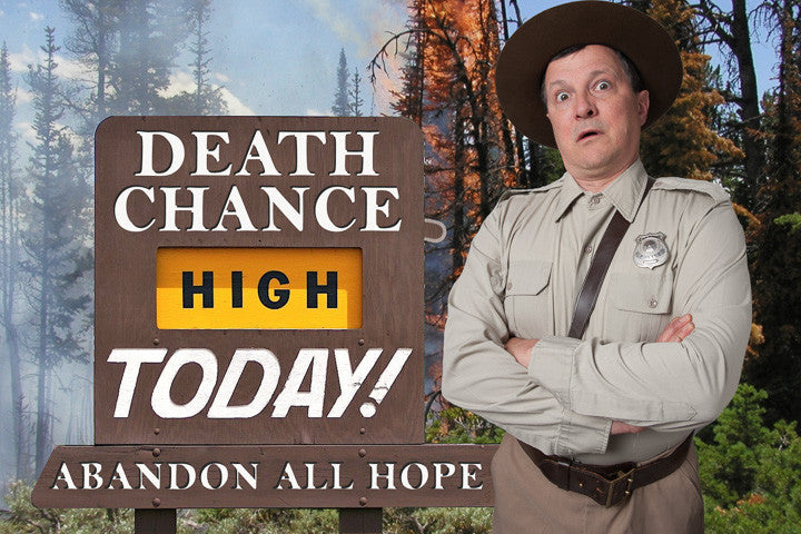 Death in Yosemite: A comedic adaptation of the Non-Fiction Book