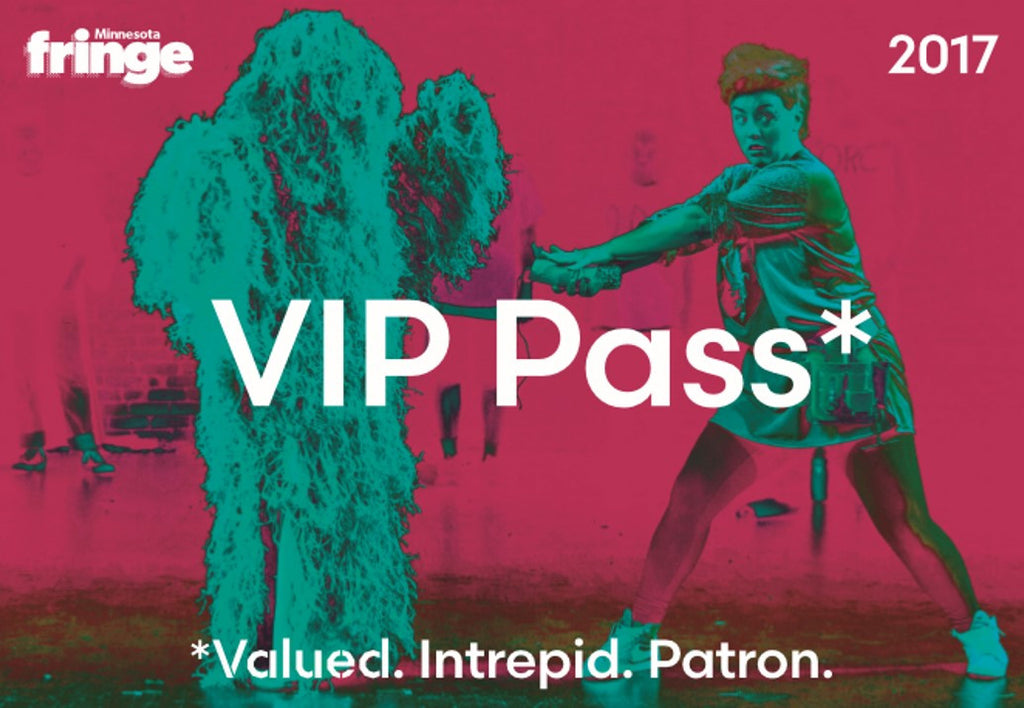 V.I.P. Pass (Valued. Intrepid. Patron.)