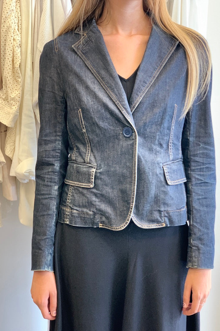 Marc Jacobs Denim Blazer