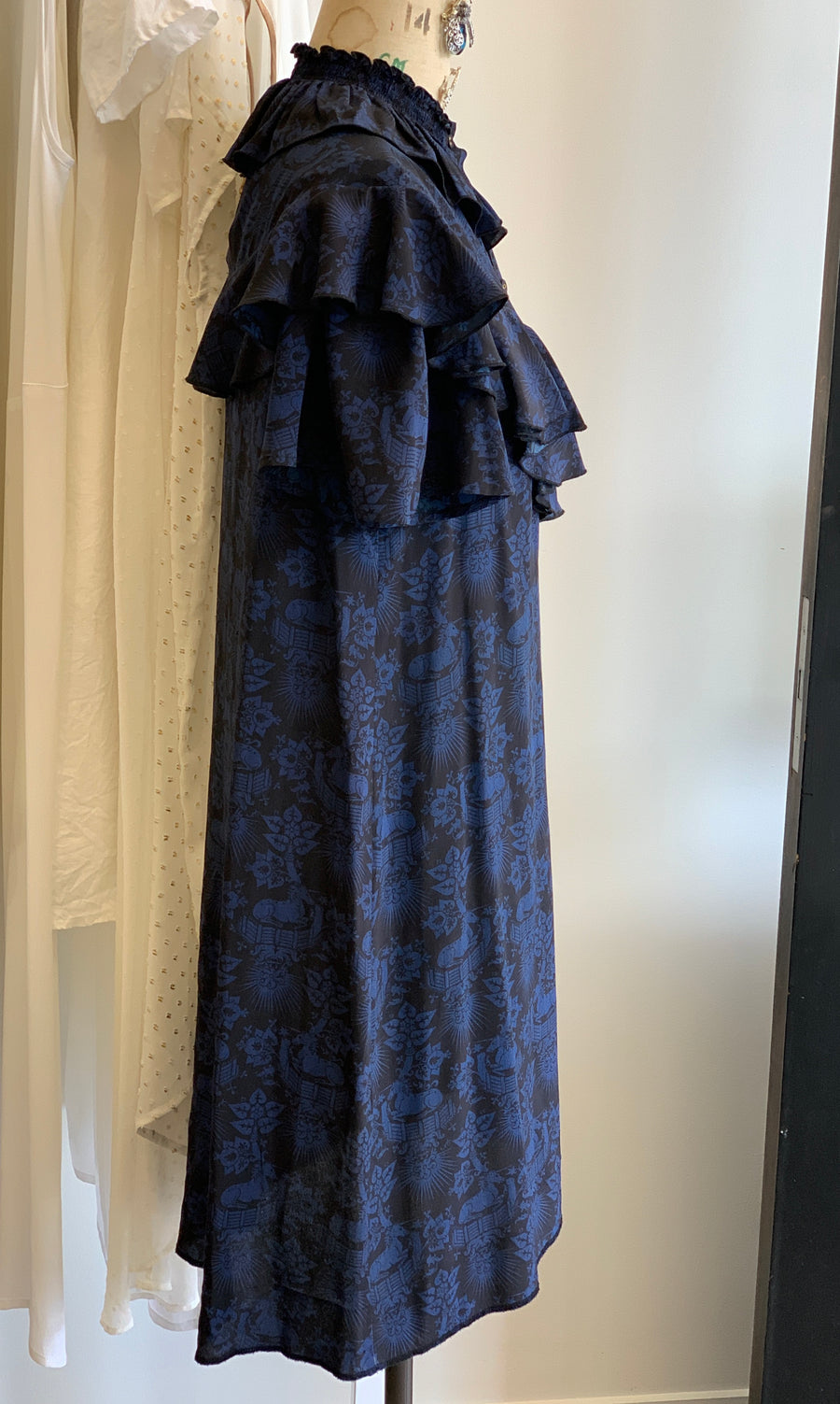 Karen Walker SILK UNICORN Dress Size 10