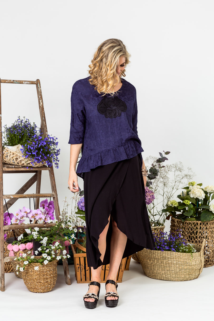 LI6531 Heather Blouse