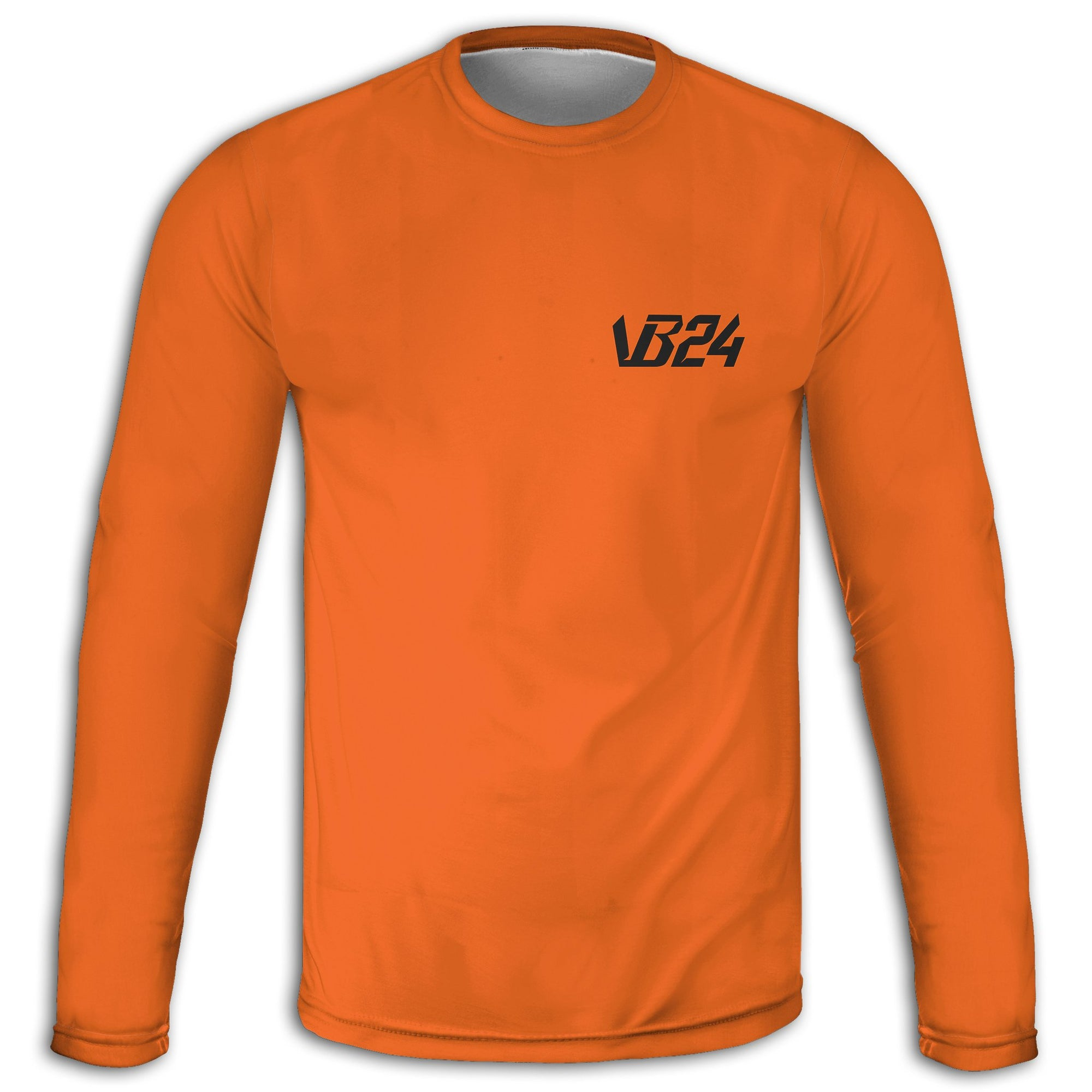 Twenty Four - Orange Long Sleeve Tee | vonbellshop.com