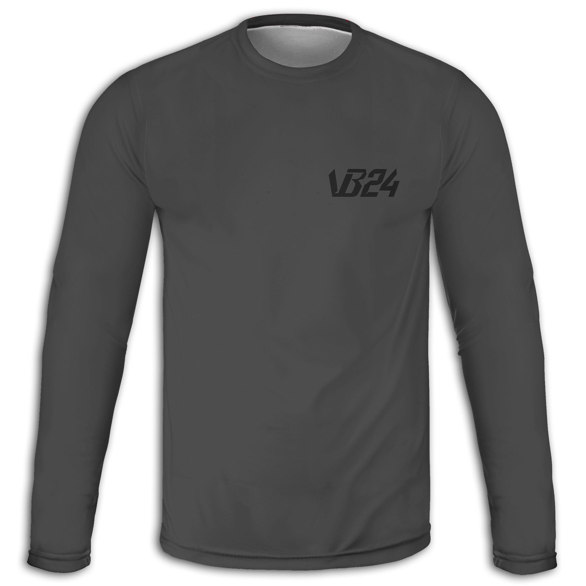 Twenty Four - Grey Long Sleeve Tee | vonbellshop.com