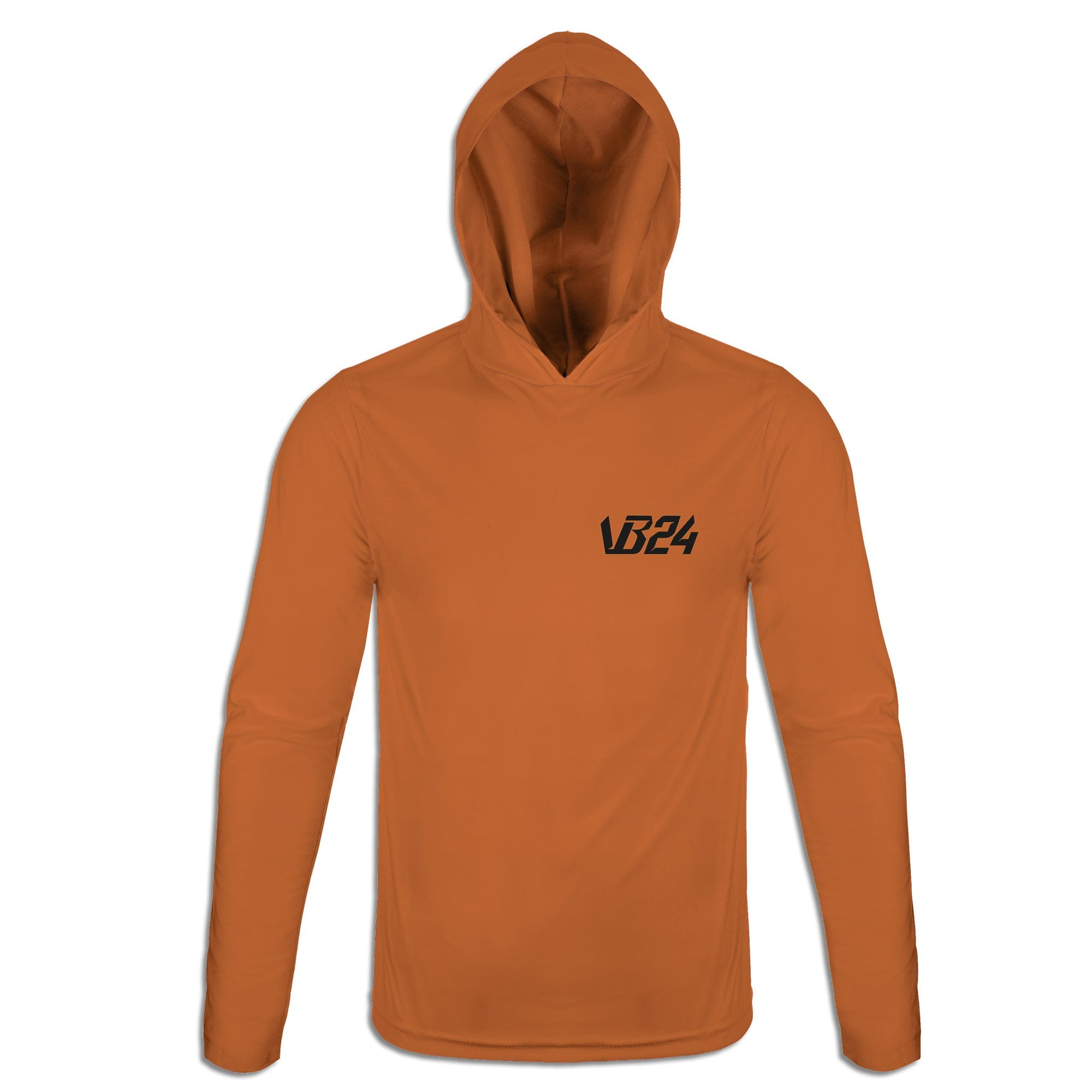 Twenty Four - Orange Lightweight Hoodie | vonbellshop.com