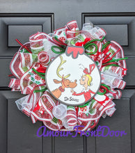 Load image into Gallery viewer, Cindy Lou Who - Small Christmas Wreath - Custom Order