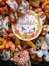 Load image into Gallery viewer, Be Thankful Fall Wreath, Snoopy Wreath, Custom Order