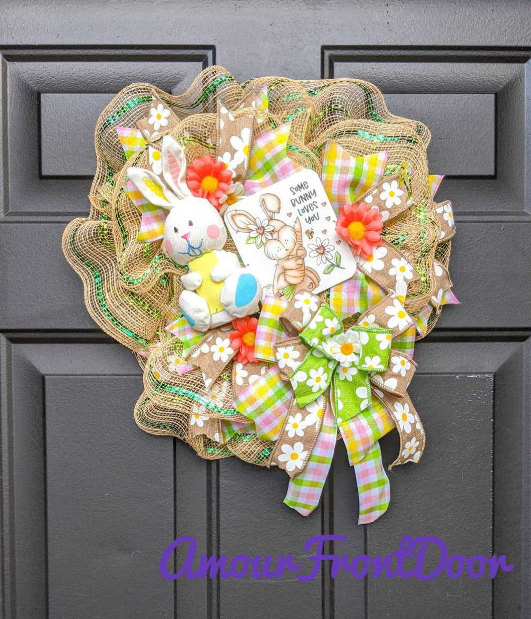 Playhouse Wreath - Petite Wreath - Small Wreath - Pixie Wreath - Indoor Wreath - Small Door Wreath