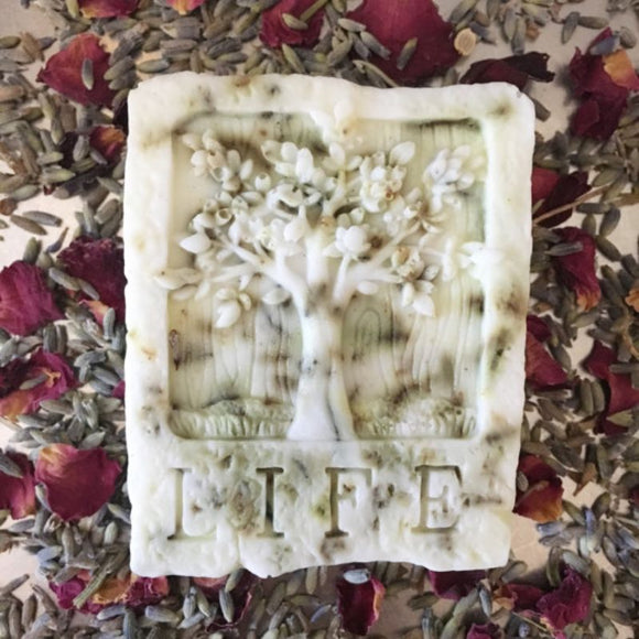 Lavender Rose Wesley's Tree of Life Soap