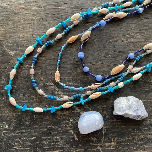 Necklaces from Mexico - Blue Collection