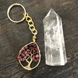 Ruby Tree of Life Keychain (Small)