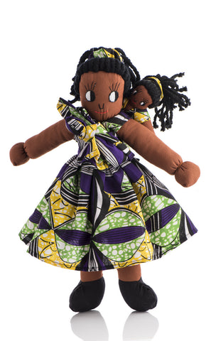 Jacaranda Doll with Baby