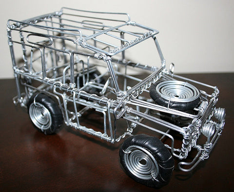 Give a Wire Car for Christmas